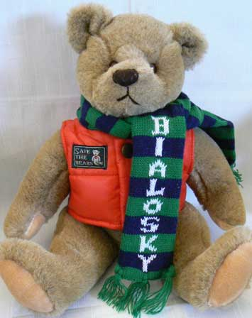 1982 GUND BEAR BIALOSKY  by VARIOUS