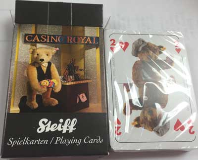 STEIFF CASINO ROYALE CARDS by STEIFF