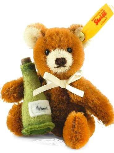 TEDDY WITH CHAMPAGNE BOTTLE by STEIFF